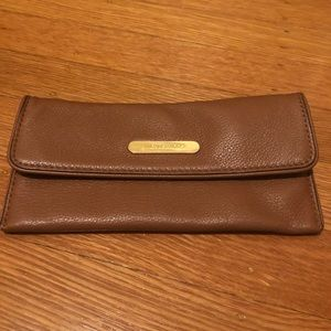 Michael Kors Brown Soft Leather Wallet